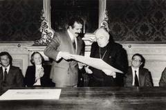 Visita del Cardinale di Santiago del Cile