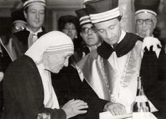 Laurea ad honorem a Madre Teresa di Calcutta