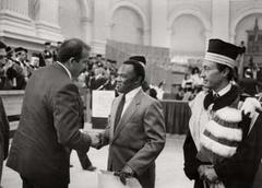 Laurea ad honorem a Nelson Mandela