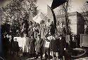 [Festa delle matricole: Bologna 12 febbraio 1933: carro degli studenti]