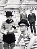 Festa degli studenti in piazza Maggiore: Bologna: 1969