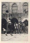 Festa delle matricole: Bologna, giugno 1948: studenti sfilano in abiti medievali