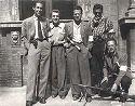 8. brigata giustizia e libertà: Bologna, cortile d'Ercole di Palazzo Poggi: 21 aprile 1945
