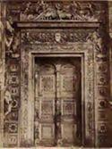 Pavia: certosa, finestrone nella facciata