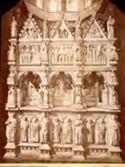 Pavia: cattedrale: parte posteriore dell'arca di S. Agostino