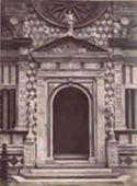 Bergamo: basilica di S. Maria Maggiore: portale della cappella Colleoni
