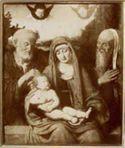 Madonna con bambino e Santi di Andrea di Milano: pinacoteca di Brera: Milano