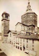 Veduta di Pavia: duomo