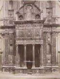 Brescia: chiesa di S. Maria dei Miracoli, particolare della facciata
