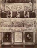 Mausoleo di Bartolomeo Colleoni di Giovanni Antonio Amadeo: basilica di S. Maria Maggiore, cappella Colleoni: Bergamo