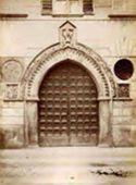 Milano: palazzo Visconti Aimi: portale