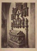 Fano: chiesa di s. Francesco: monumento di Paola Bianca Malatesta (1398)