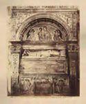 Napoli: chiesa di s. Domenico Maggiore: tomba di Marianno d'Alagni di Agnello Agnelli del Fiore