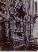 Napoli: chiesa di s. Chiara: monumento a Roberto il Savio: (Masuccio il Giovine)