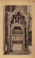 Napoli: chiesa di s. Chiara: monumento a Maria di Calabria: (Masuccio il Giovane)