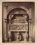 Napoli: chiesa di s. Domenico Maggiore: tomba di Antonio Carafa