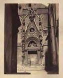 Porta della chiesa di s. Giovanni Maggiore: Napoli