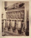 Napoli: chiesa s. Domenico Maggiore: tomba di Brancaccio Bartolomeo
