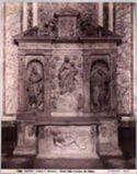 Napoli: chiesa di s. Severino: altare della famiglia De Capua