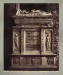 Napoli: chiesa s. Chiara: tomba [di] Antonia Gaudino