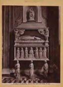Napoli: chiesa di s. Chiara: tomba di Carlo del Balzo: (14. secolo)