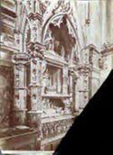 Napoli: chiesa di s. Ch[iara]: sepolcro di Roberto 1. d'Angiò il Saggio