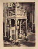 Napoli: chiesa di s. Chiara: pulpito con scene di martìri dei primi cristiani
