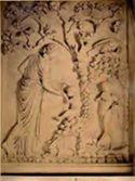 Bassorilievo: ninfa Leccotea: m[useo] Lat[eranense]: Roma