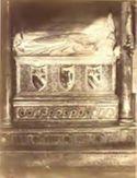 Sepolcro di Onorio 4. e della madre Vanna Aldobrandeschi, particolare: chiesa di S. Maria in Aracoeli: Roma