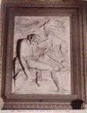 Bassorilievo, Adone [i.e. Endimione] che dorme: museo Capitolino: Roma