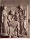 Bassorilievo: Medea e le figlie di Pelia