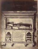 Monumento del cardinale Pietro Stefaneschi: basilica di S. Maria in Trastevere: Roma