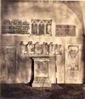 Frammenti: basilica di S. Giovanni in Laterano, chiostro: Roma