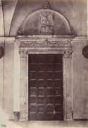 Roma: chiesa di S. Prassede: sarcofago cristiano