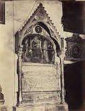 Monumento funerario del cardinale Matteo d'Acquasparta di Giovanni Cosmati: chiesa di S. Maria in Aracoeli: Roma