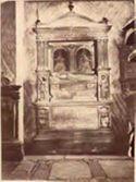 Tomba del cardinale Ludovico d'Albret di Andrea Bregno: chiesa di S. Maria in Aracoeli: Roma