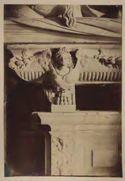 Monumento del cardinale Ascanio Sforza di Andrea Sansovino, particolare del sarcofago: chiesa di S. Maria del Popolo: Roma