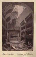 Disegno delle cripte dei Papi: catacombe di S. Callisto: Roma