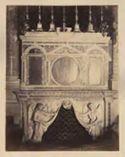 Paliotto d'altare ricomposto con elementi cosmateschi: chiesa di S. Cesareo de Appia: Roma