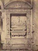 Monumento del cardinale Bernardino Lonati: chiesa di S. Maria del Popolo: Roma