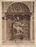 Roma: basilica di S. Pietro: monumento a Innocenzo 8., la parte superiore