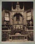 Roma: chiesa di S. Cecilia, confessione e mosaici