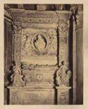 Tomba del cardinale Giovanni de Castro di Francesco da Sangallo: chiesa di S. Maria del Popolo: Roma