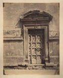 Roma: chiesa di Nostra Signora del Sacro Cuore, già S. Giacomo degli Spagnoli: portale