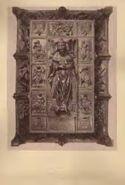 Roma: basilica di S. Pietro: monumento di Sisto 4. visto dall'alto