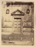 Roma: chiesa di S. Maria del Popolo: portale mediano