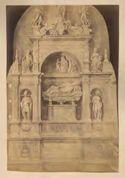 Monumento del cardinale Girolamo Basso della Rovere di Andrea Sansovino: chiesa di S. Maria del Popolo: Roma