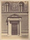 Roma: chiesa di S. Pudenziana: portale