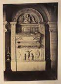 Monumento del vescovo Guglielmo Rocca del Bregno: chiesa di S. Maria del Popolo: Roma
