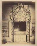 Monumento del cardinale Filippo d'Alencon: basilica di S. Maria in Trastevere: Roma